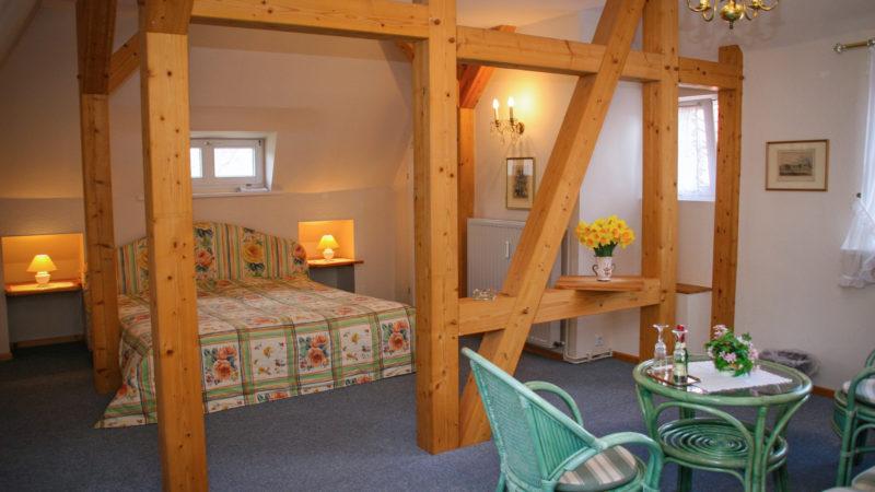 Ferienwohnung Himmelreich Schlafzimmer