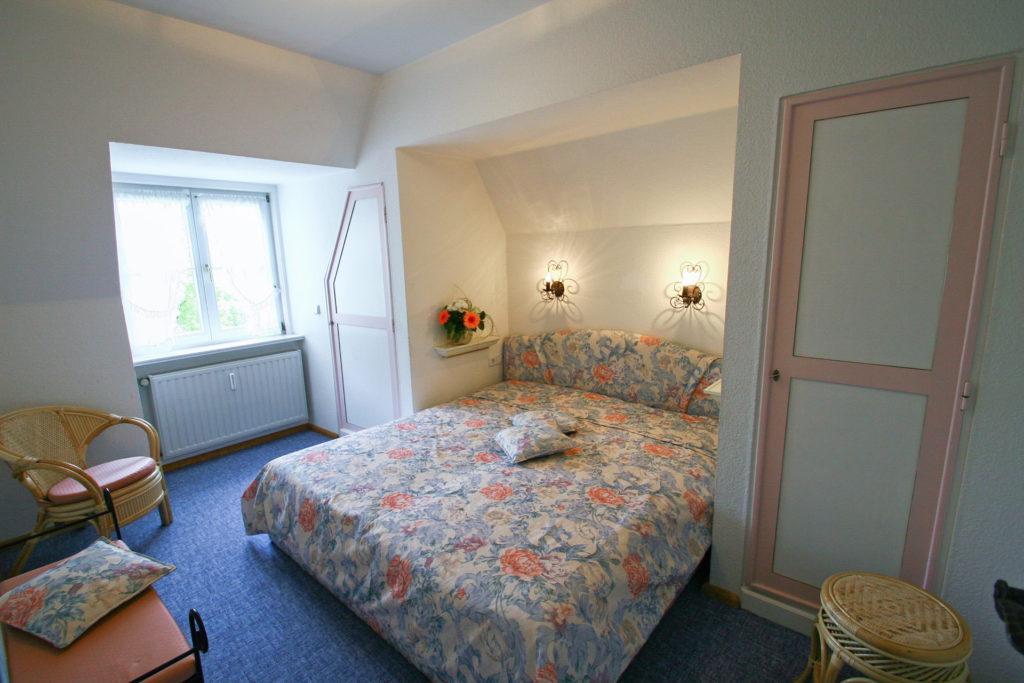 Ferienwohnung Parkblick Schlafzimmer