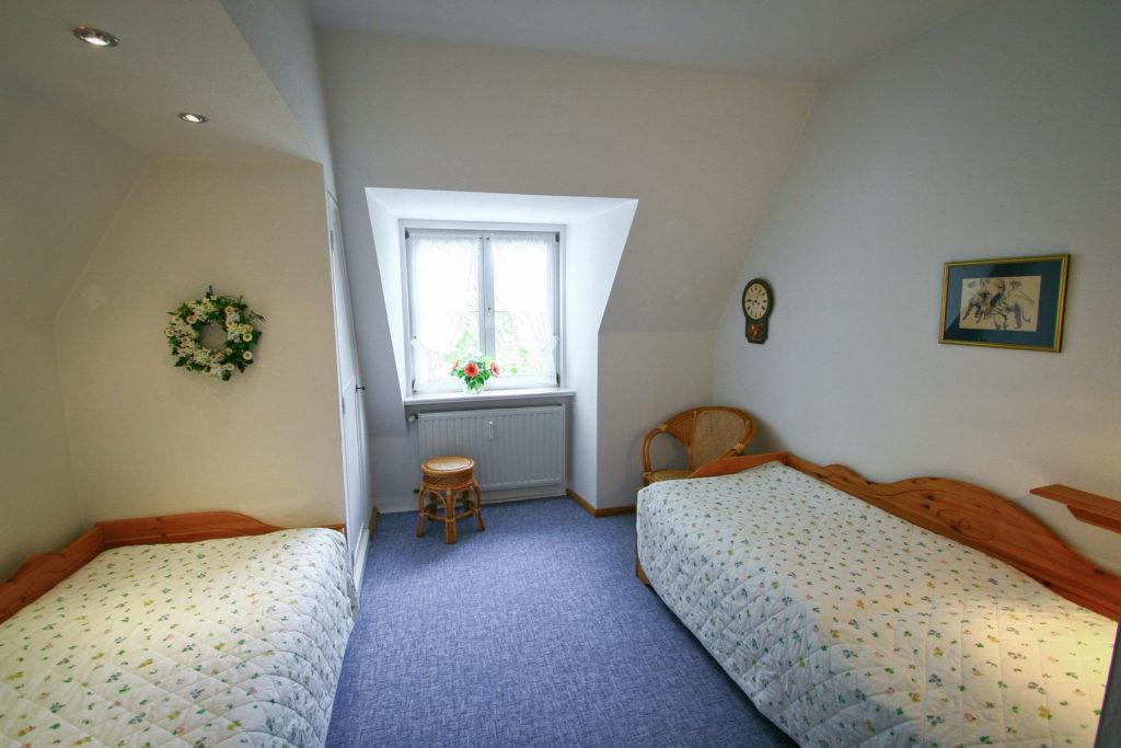 Ferienwohnung Parkblick Schlafzimmer 2