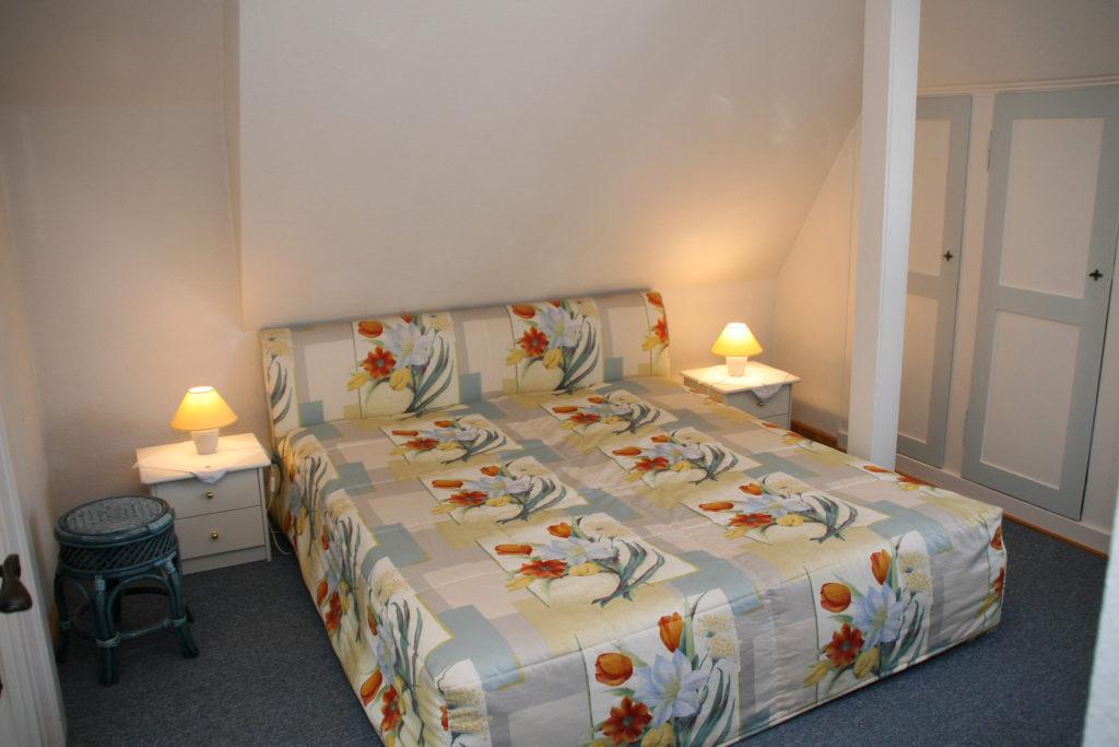 Ferienwohnung Rudelsburg Schlafzimmer